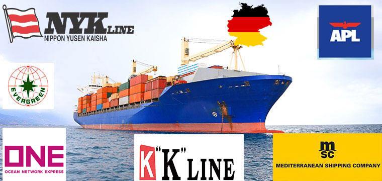 vận chuyển hàng đi Đức bằng đường biển